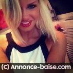 Fille blonde a Annecy pour baiser avec un mec sportif