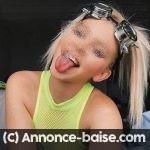Etudiante blonde de Tours dispo pour baise si feeling