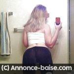 En couple, cette nana blonde Angers veut baiser